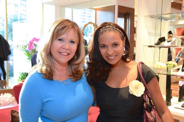News, Shelby, Latin Women's Initiative party, Sept. 2015, Cyndy Garza Roberts, Diana Caicedo