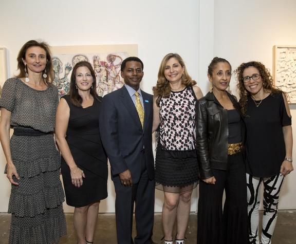 UNICEF Art Auction, 5/16 Veronique Prentice, Lisa LaGrone, Nelson Bowman, Rania Daniel, Dina Alsowayel, Rania Matar