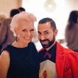 40 Vivian Wise and Fady Armanious 2 at the Pam & Gela party November 2014