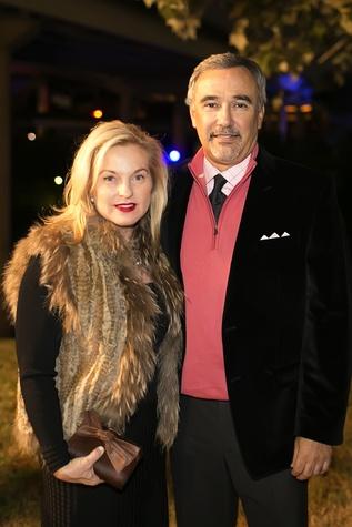 10 Cindy Steele and Steve Lopez at the Buffalo Bayou Ball November 2014