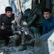 Zachary Quinto, Sofia Boutella, and Karl Urban in Star Trek Beyond
