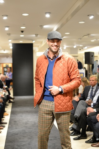 16 Model at the Neiman Marcus Men's Fall Trend Event September 2014