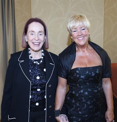 9949 Karen Otazo Hofmeister, left, and Susan Carlisle at the Houston Area Urban League Gala June 2014