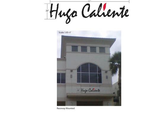 Hugo Caliente logo