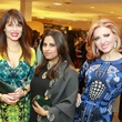 Karina Barbieri, from left, Ruchi Mukherjee and Yasmine Haddad at Best Dressed
