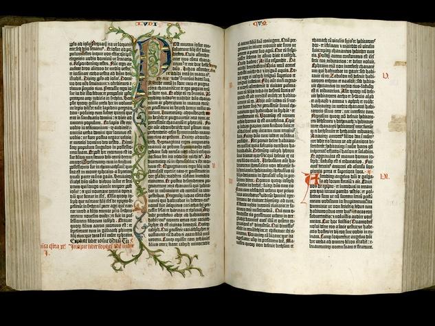 Harry Ransom Center presents From Mainz to Austin: Carl H. Pforzheimer's Gutenberg Bible