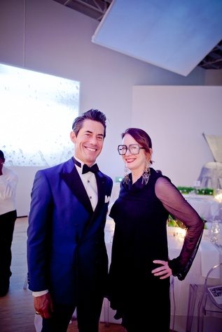 35 Milton Townsend and Rebekah Johnson at the CAMH Gala March 2015