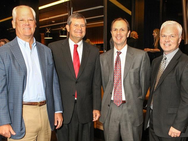 Stan Barth, John Andrews, Dan Strodle and John Davis, Boys and Girls Club Great Futures Luncheon