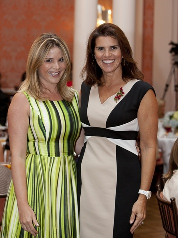 5 Jenna Bush Hager, left, and Lisa Malosky at the Small Steps Luncheon