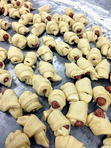 RoRo's pigs in a blanket