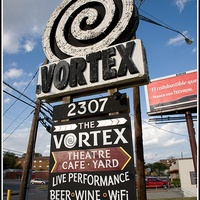 Austin Photo: Places_Arts_The_Vortex_Sign