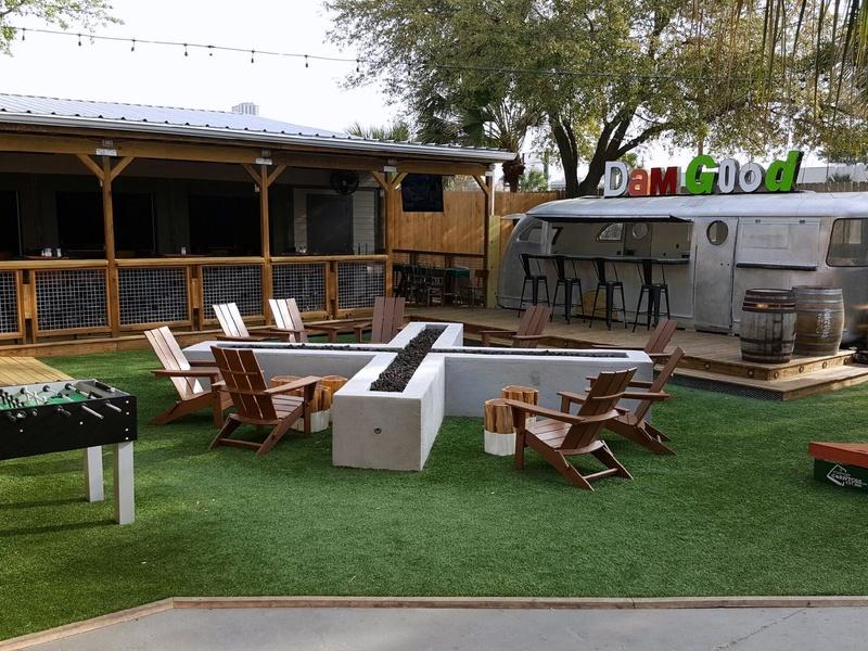 Houston, new patios, April 2017, Beavers Westheimer