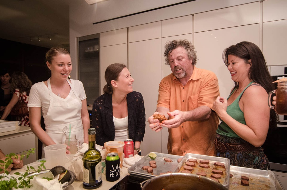 Happy Hemp BBQ Jack Allen demonstrates how to prepare a proper munchie snack