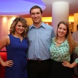 Alley Theatre Young Professionals event July 2013 Ashley Dinjar, Mark Godsey, Colleen Owen