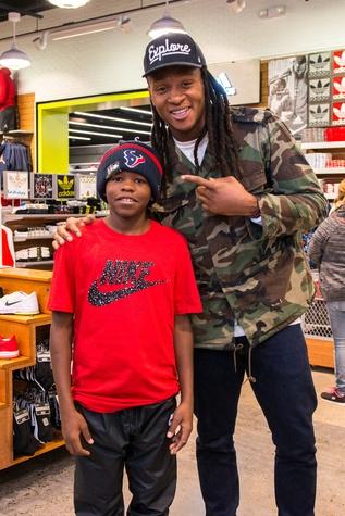 DeAndre Hopkins shopping spree for kids