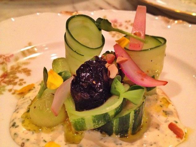 Olamaie cucumber salad