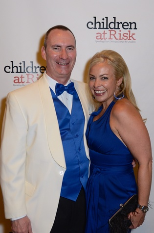 News, Children at Risk gala, April 2015, Kyle Jennings and Adrienne Publicover