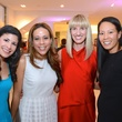 5 Kristy Bradshaw, from left, Heidi Smith, Chris Goins and Ting Bresnahan at Fresh Faces of Fashion event at Tootsies September 2014