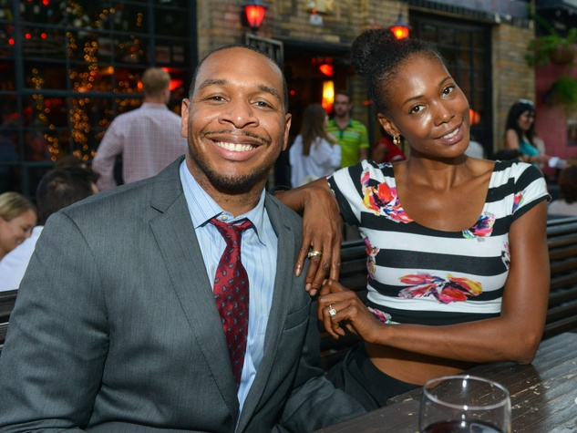 13 Ken and Brandi Banks at the CultureMap Social at Boheme September 2014