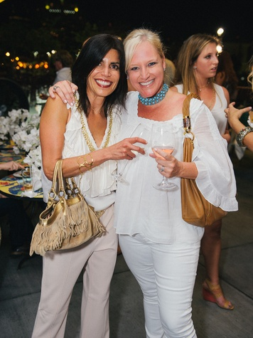 16 Erica Levit, left, and Lizzie Sullivan at Ceron 50th birthday party August 2014.