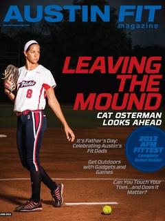 Austin Fit Magazine June 2013 cover