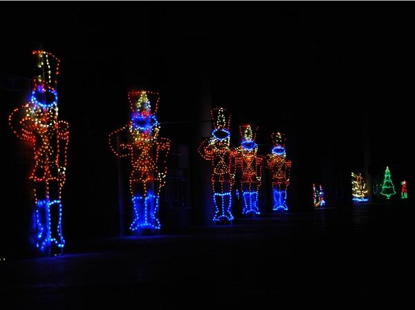 Christmas Lights At Texas Motor Speedway