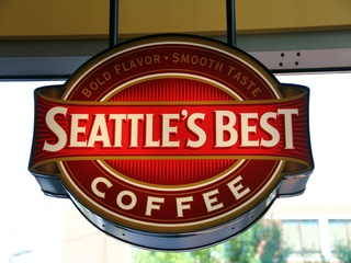 Seattle's Best Coffee sign