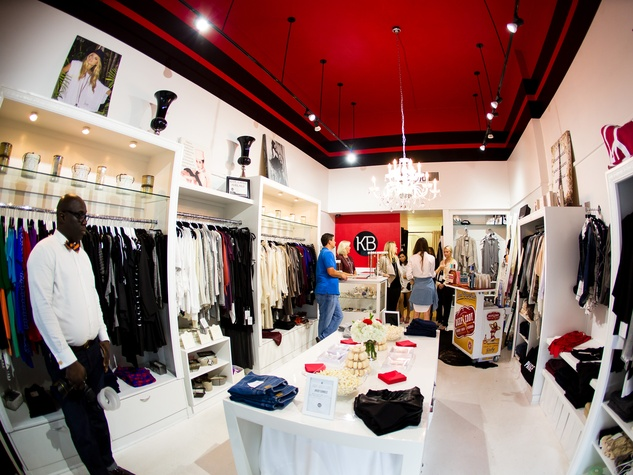 KB Kasuals Boutique at the KB Kasuals party September 2014