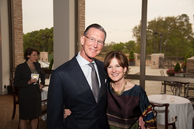 Charles and Judy Tate at the Jung Center Spring Benefit April 2015