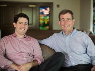 Rev. Arthur Jones and Bishop Scott J. Jones