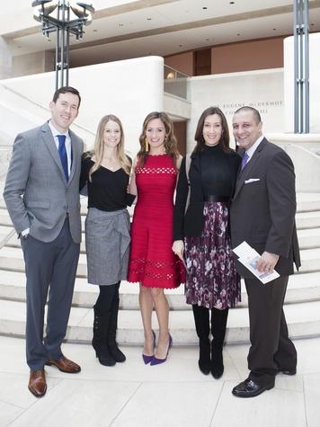 Tommy Somerville, Nicole Somerville, Megan Somerville, Shannon Ajami, Ahmad Ajami, LLS luncheon