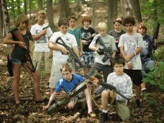I Declare War movie cast