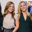 8 Christina Ghoson, from left, Kellie Vincent, Holly Gambini and Cristina Halliburton at CultureMap fifth anniversary birthday party October 2014
