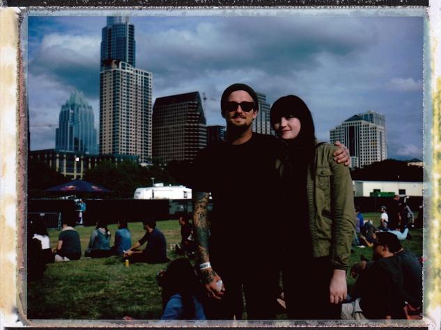 Fun Fun Fest Polaroid Experience 2013 in Austin Drew and Andi