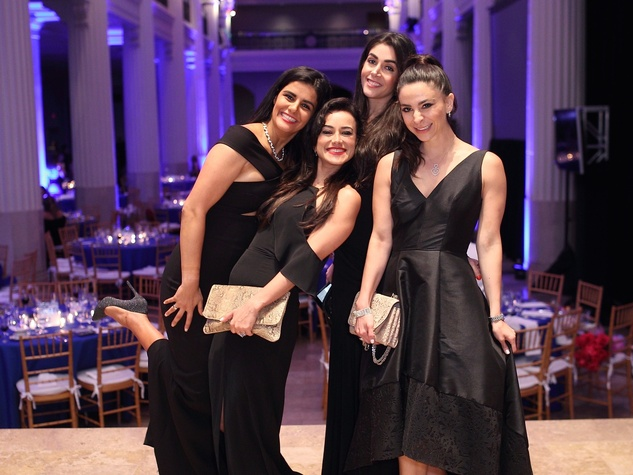 Denali Foundation Gala, Naseem Athari, Maryam Afshari Khreibani, Sahar Athari, Shadi Abedin = CROPPED Photo