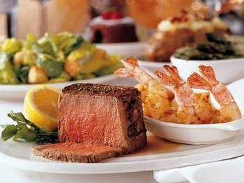 Places-Food-Morton&#39;s steak and shrimp