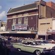 Paramount Theatre_100 Years_Exterior Then_Batman Premiere