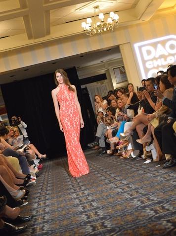 Chloe Dao Fashion Show May 2013 model runway