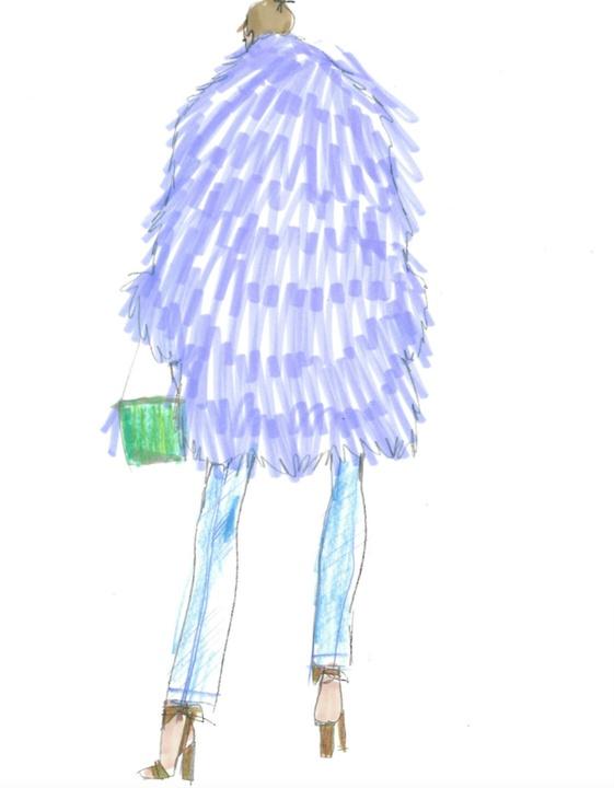 J.Crew womenswear designer sketch inspiration fall 2017