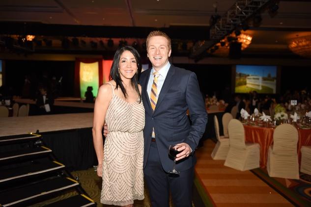 Nora's Home Gala 2015 Laura and Dr. Mark Hobeika