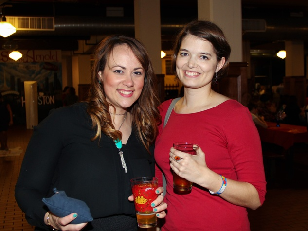 Houston Area Women's Center Young Leaders 7/16  Danielle Bartz, Kathryn Brooks
