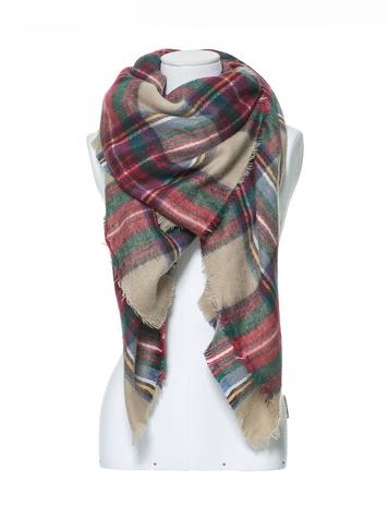 Tartan scarf Zara