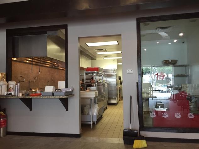 Samurai Noodle interior