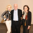 1 Lynn Wyatt, from left, Gregory Boyd and Patty Hubbardat the Alley Theatre groundbreaking luncheon July 2014