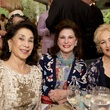 Mary Cullen, from left, Elyse Lanier and Mary Kickerillo at the Bayou Bend Garden Party March 2015