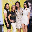 7 Alyssa Abdulla, from left, Terri Nguyen, Emily Yau and Magen Pastor at CultureMap fifth anniversary birthday party October 2014