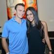 News, Shelby, HFAF party, August 2014 Matt Johnson, Oriana Velasco