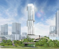 The Independent downtown Austin building skyscraper rendering