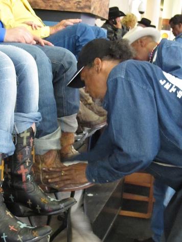 10, RodeoHouston, Larry White, boot shiner