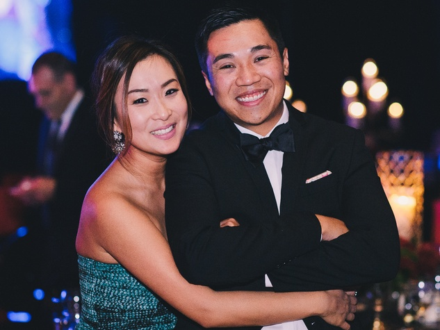 18 Ann and Timmy Le at the Memorial Hermann Gala April 2014